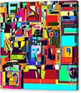 Alef Bais 1a Acrylic Print