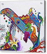 Aleph II Acrylic Print by Dawnstarstudios