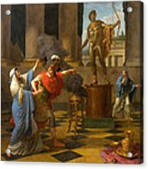Alexander Consulting The Oracle Of Apollo Acrylic Print