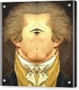 Alexander Hamilton Invert Acrylic Print