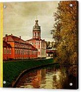 Alexander Nevsky Lavra Acrylic Print
