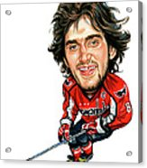 Alexander Ovechkin Acrylic Print by Art
