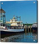 Alexandria Waterfront Acrylic Print