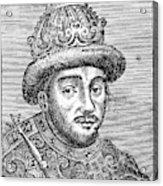 Alexei Mikhailovich (1629-1676) Acrylic Print