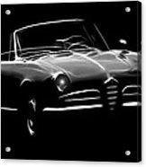 Alfa Romeo 1600 Giulia Spider Acrylic Print