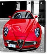 Alfa Romeo 1c Acrylic Print