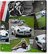 Alfa Romeo Milano Collage Acrylic Print