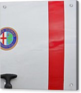 Alfa Romeo Trunk Acrylic Print