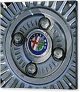 Alfa Romeo Wheel Rim Acrylic Print