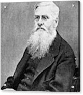Alfred Russel Wallace (1823-1913) Acrylic Print