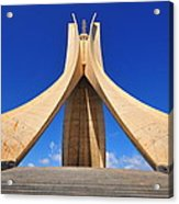 Algiers Martyrs Monument Acrylic Print by Miguel Torres