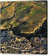Alhama De Granada Volcanic Lands Acrylic Print