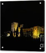 Alhambra At Night Acrylic Print