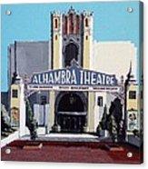 Alhambra Theatre Acrylic Print