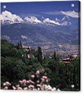 Alhambra View Acrylic Print