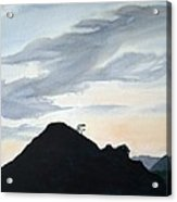 Alicante Sunset Acrylic Print
