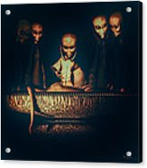 Alien Autopsy Alien Abduction Acrylic Print