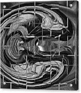 Alien Brain Acrylic Print