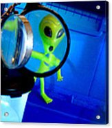 Alien Discovers A True Passion For Legitimate Musical Theatre And Belting Showtunes Acrylic Print