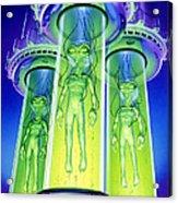 Alien Experiment Acrylic Print by Steve Read