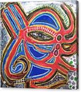 Alien In All Acrylic Print