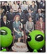 Alien Nostalgia Acrylic Print
