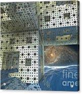 Alien Sea By Kc Acrylic Print