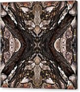 Alien - Tree Bark Art Abstraction Acrylic Print