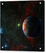Alien Worlds Acrylic Print