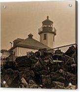 Alki Lighthouse Acrylic Print