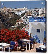 All About The Greek Lifestyle Acrylic Print