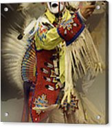 Pow Wow All About Time Acrylic Print