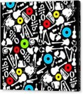 All Abut Music  Acrylic Print
