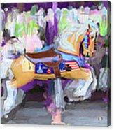 All American Pony Acrylic Print