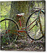 All Bike Out Acrylic Print