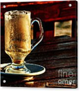 All Coffeed Out  Acrylic Print