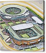 All England Lawn Tennis Club Acrylic Print