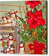All Good Wishes For Christmas Acrylic Print