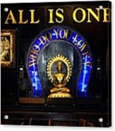 All Is One Acrylic Print