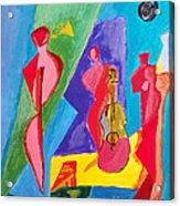 All My Jazz Acrylic Print