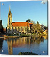 All Saints Church Marlow Acrylic Print