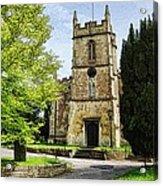 All Saints Church Weston Bath Acrylic Print