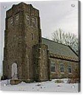 All Souls Chapel Poland Maine Acrylic Print
