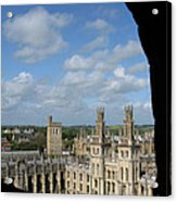 All Souls College And Beyond Acrylic Print