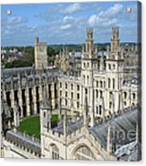 All Souls College Acrylic Print