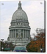 All Streets Lead To The Capital Acrylic Print