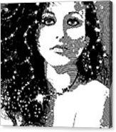 All That Glitters Acrylic Print