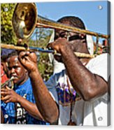 All That Jazz Acrylic Print