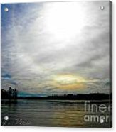 All The Colors Of The Day Acrylic Print by Lorraine Heath