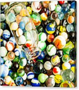 All The Marbles Acrylic Print by Edward Fielding